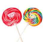 Candies | Rainbow Whirly Pops